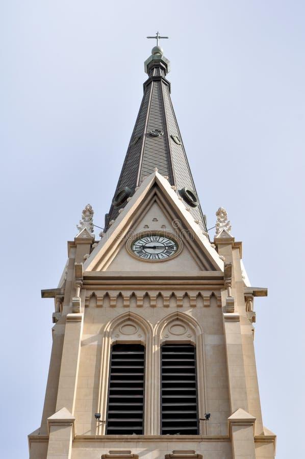 桑托斯佩德罗y塞西莉亚大教堂在马德普拉塔,布宜诺斯艾利斯 库存图片