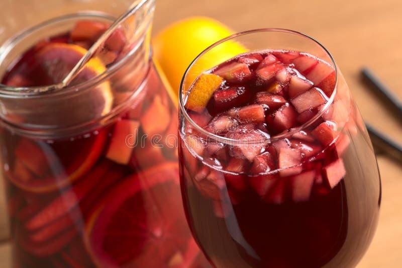 桑格里酒用果子 免版税图库摄影