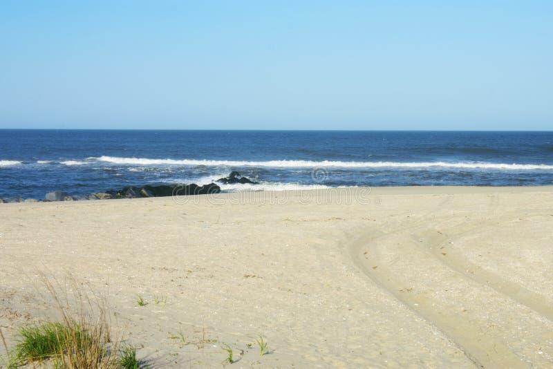 桑迪胡克海滩,高地,NJ -04 库存照片