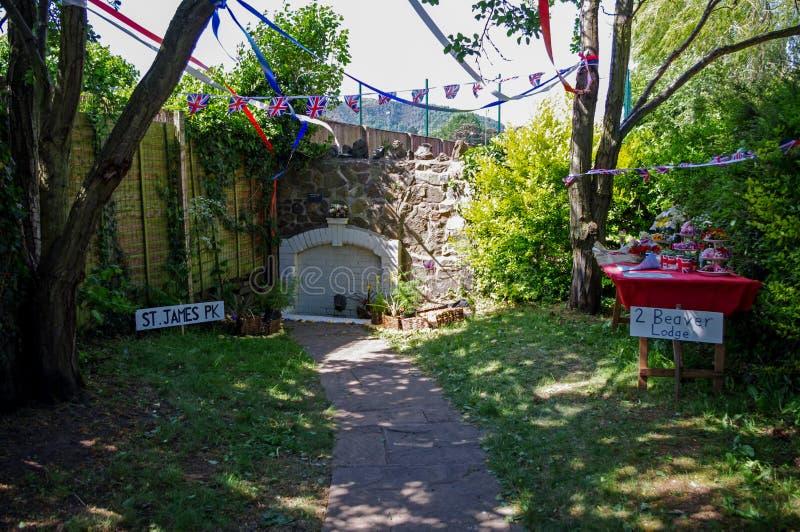 桑迪阁下` s喷口, Malvern,渥斯特夏 免版税库存照片