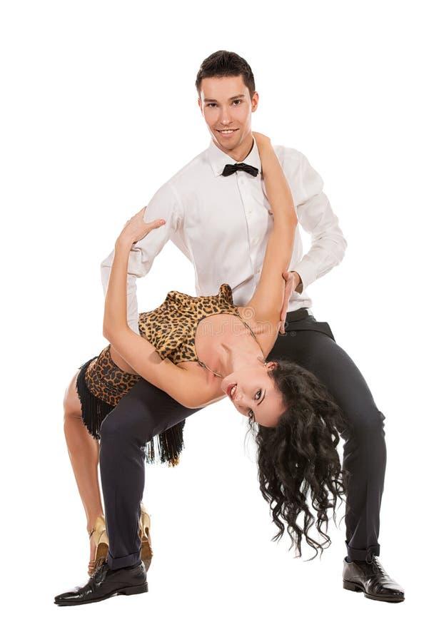 桑巴舞蹈 库存图片