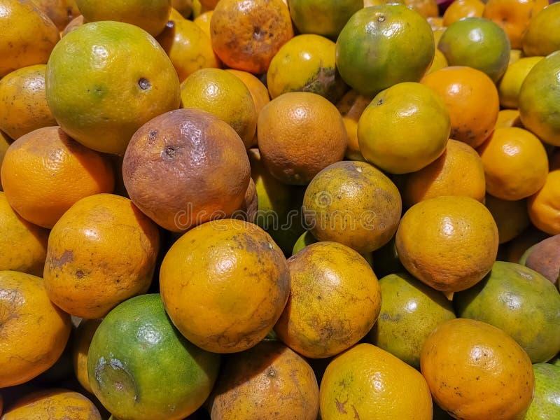 桔子果子背景,果子在市场上 库存照片