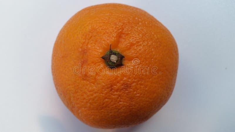 桔子的上面 免版税库存图片