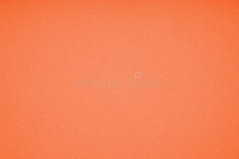 桔黄色纸板纸纹理背景 图库摄影
