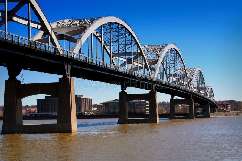 桥梁一百周年纪念 库存图片