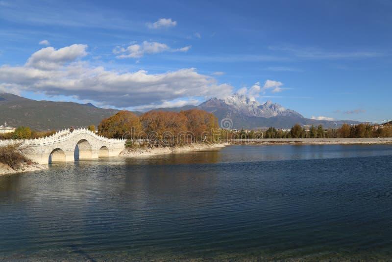 桥梁中国传统 库存照片