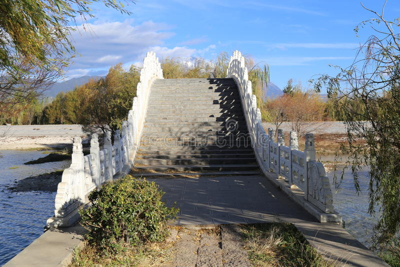 桥梁中国传统 免版税库存图片