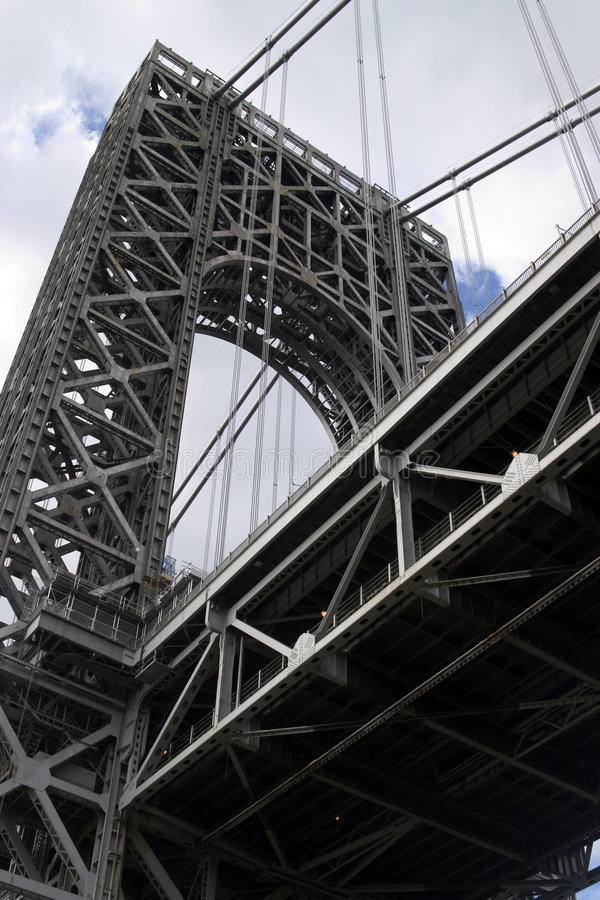 桥梁乔治・华盛顿 免版税图库摄影
