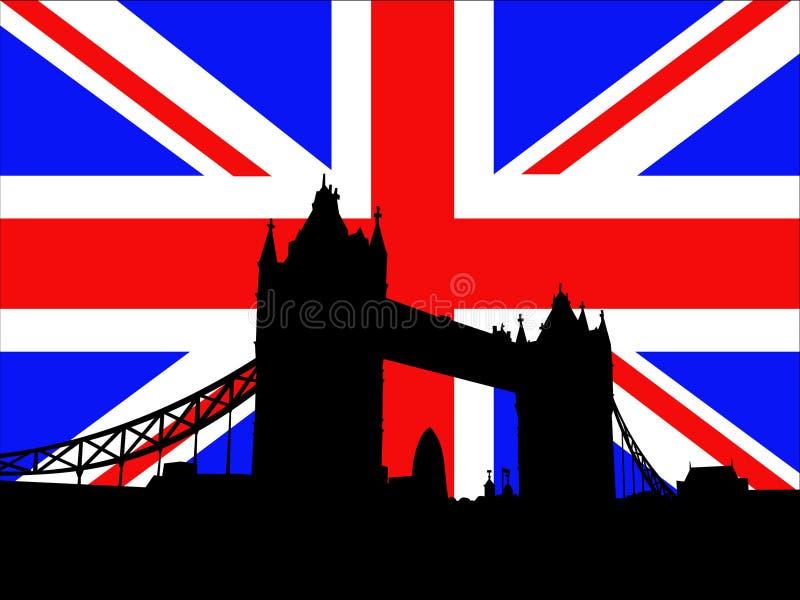 桥梁伦敦塔 库存例证
