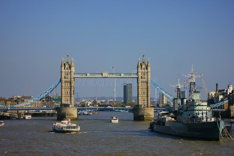 桥梁伦敦塔 库存照片