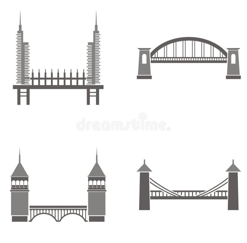 桥梁例证 库存例证