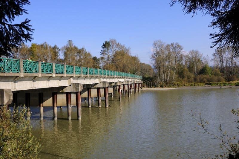 桥梁到海岛 免版税库存图片