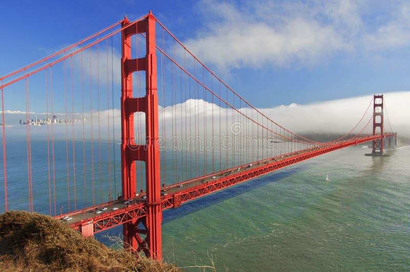 桥梁加州弗朗西斯科门金黄圣美国 免版税库存图片