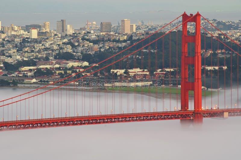 桥梁加州弗朗西斯科门金黄圣美国 库存照片