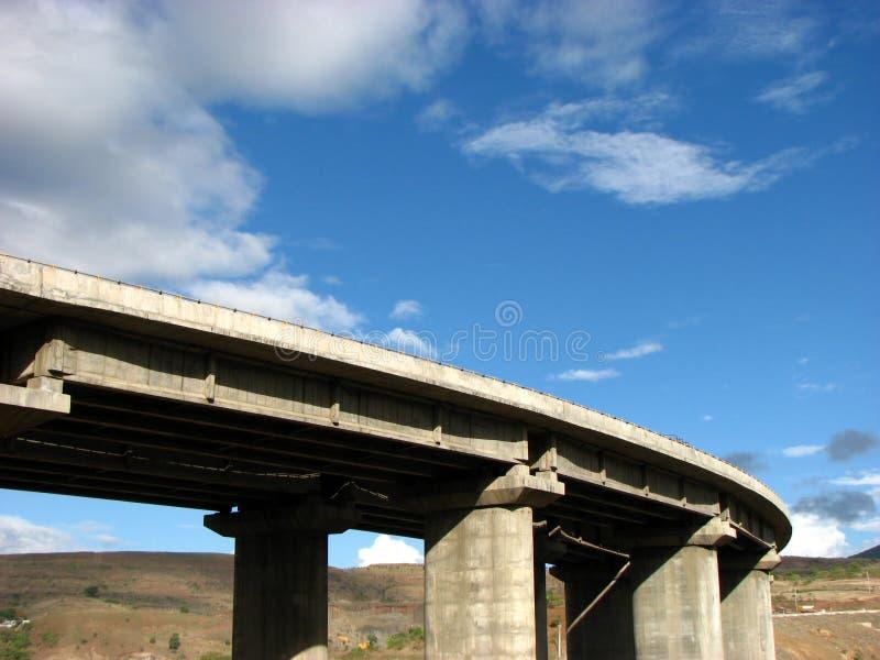 桥梁启用 库存图片