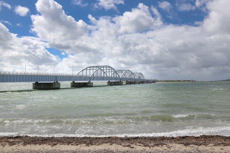 桥梁在丹麦 库存照片