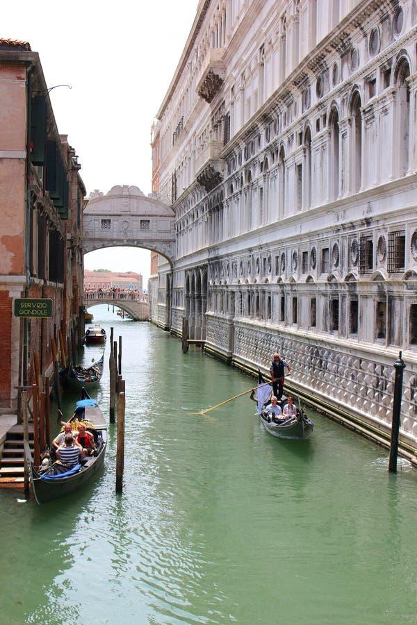 桥梁在威尼斯意大利 库存图片