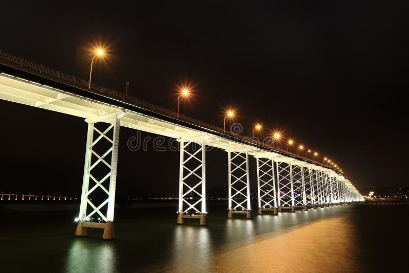 桥梁在澳门 库存照片