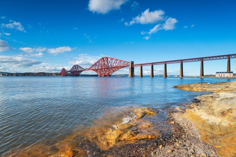 桥梁在苏格兰 库存图片