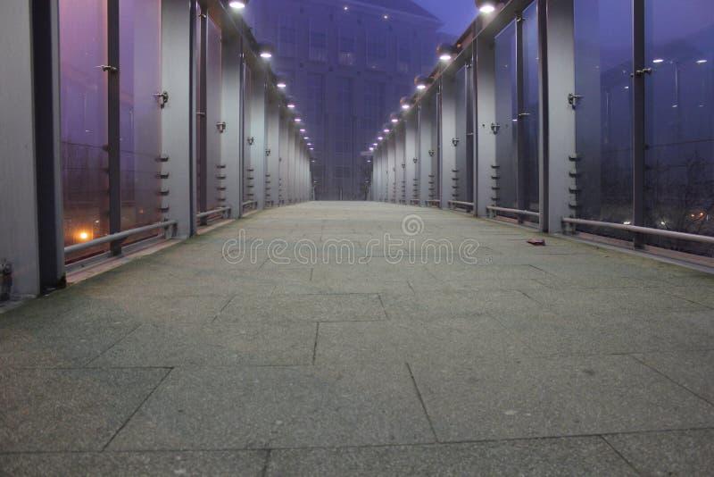 桥梁在黎明 图库摄影