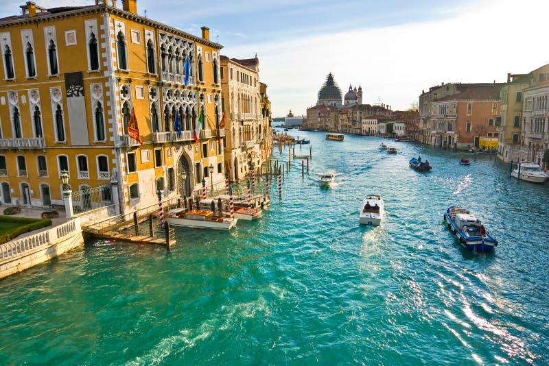桥梁威尼斯视图 免版税图库摄影