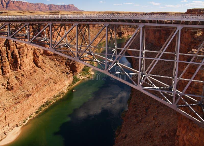 桥梁峡谷大理石 免版税库存照片
