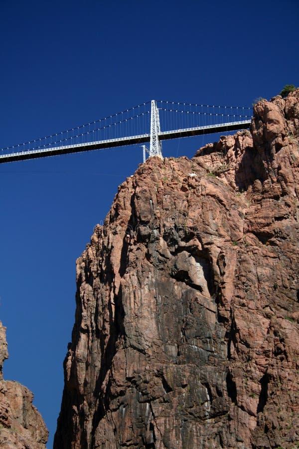桥梁峡谷皇家垂直 库存照片