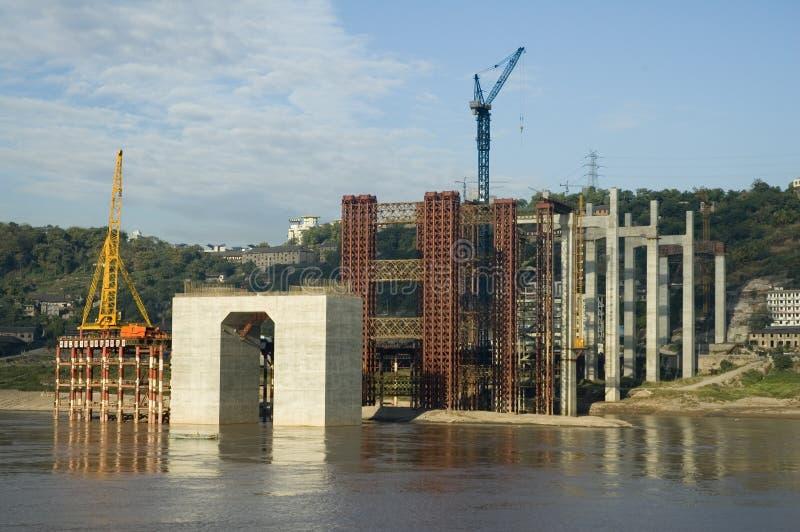 桥梁工程 库存照片