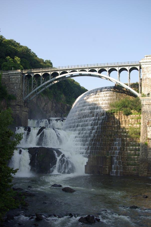 桥梁巴豆水坝 库存图片