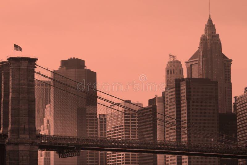 桥梁布鲁克林 库存图片