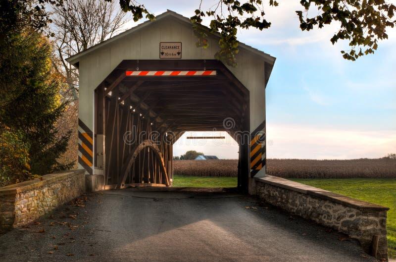 桥梁报道了erb s 免版税库存照片