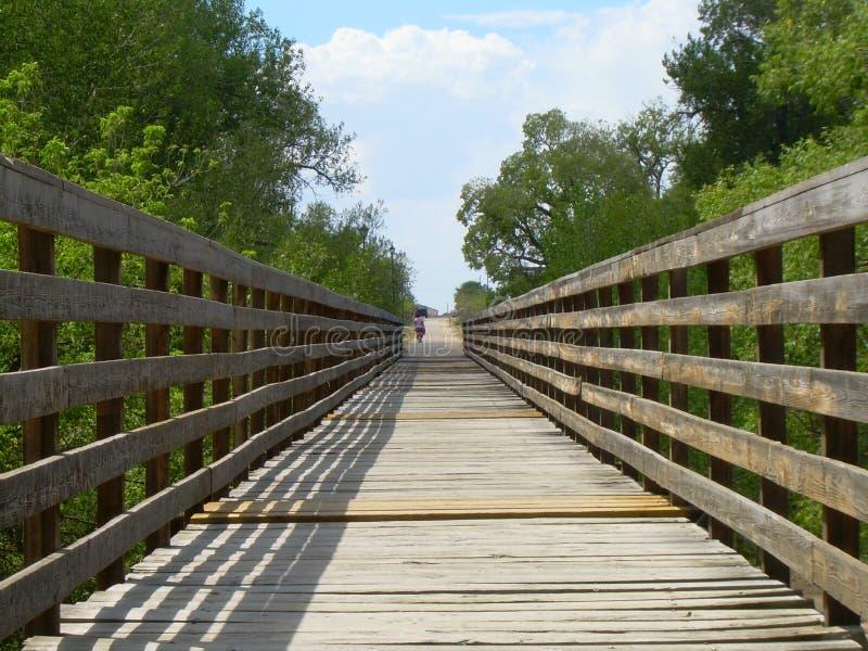 桥梁接近老  库存照片