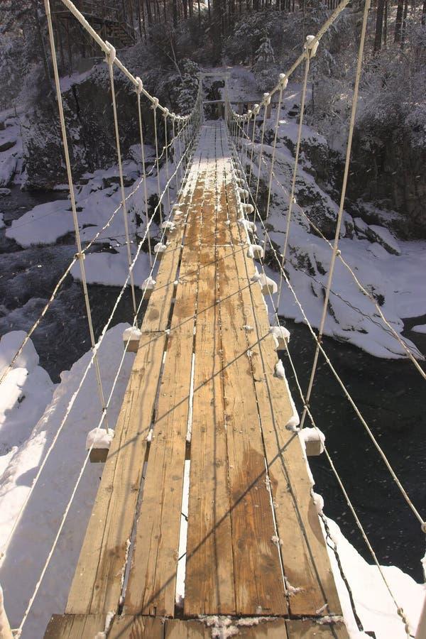 桥梁暂挂 免版税图库摄影