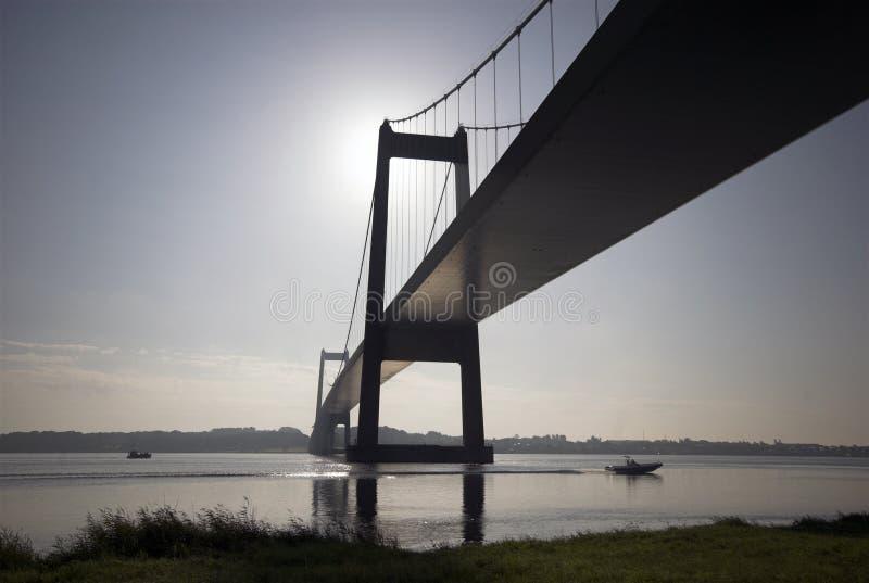 桥梁暂挂 图库摄影