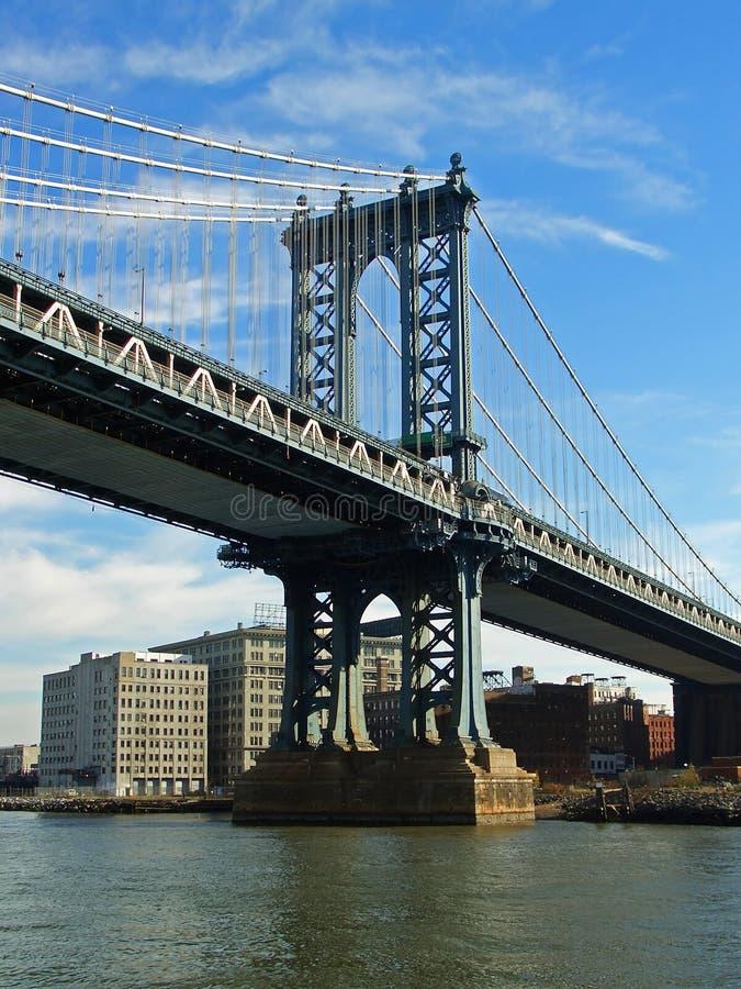 桥梁曼哈顿纽约 免版税库存照片