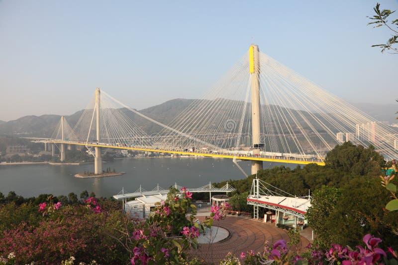 桥梁洪kau kong铃的响声 免版税库存图片