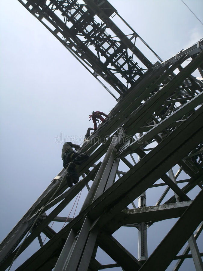 桥梁混凝土 免版税库存照片