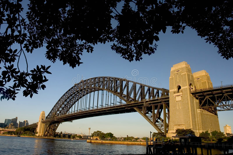 桥梁港口 库存照片