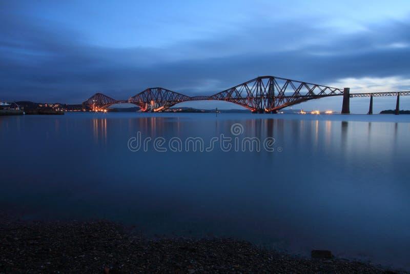 桥梁用栏杆围 库存图片