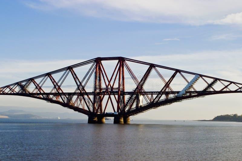 桥梁用栏杆围 免版税库存照片