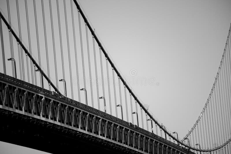 桥梁的波浪 免版税库存照片