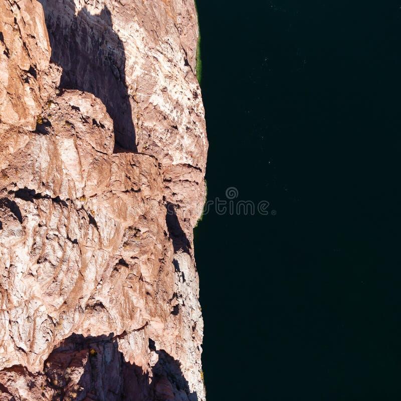从桥梁的看法在科罗拉多河 免版税库存照片