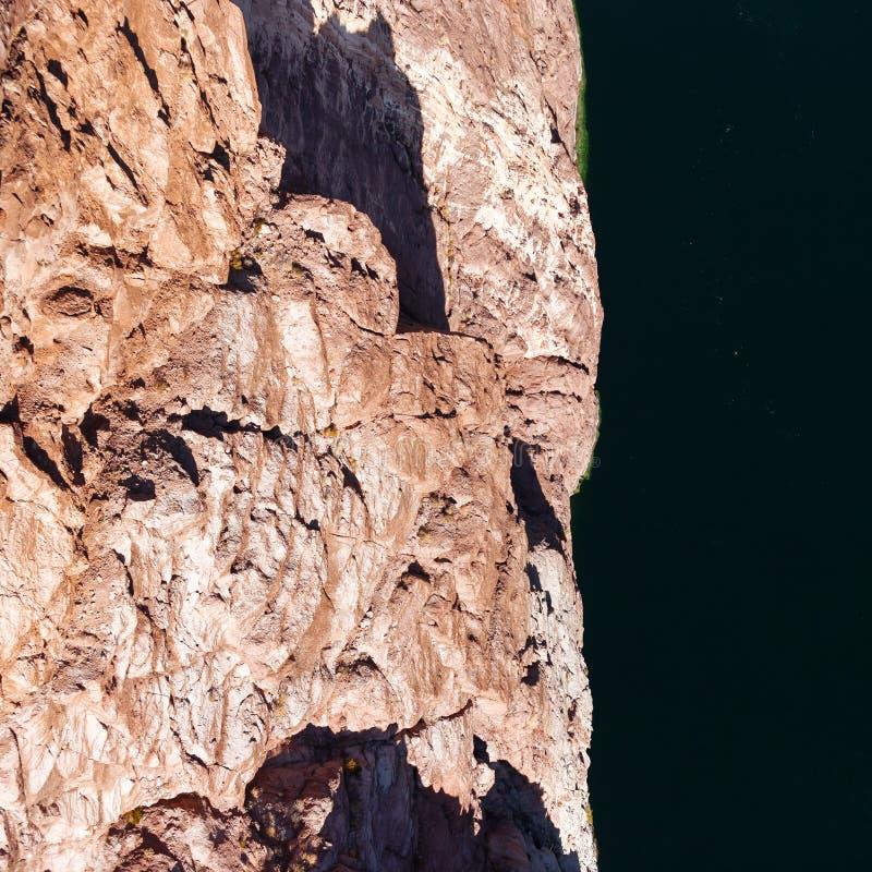 从桥梁的看法在科罗拉多河 免版税库存图片