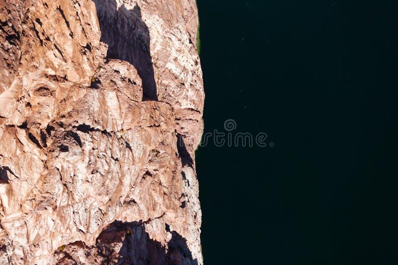 从桥梁的看法在科罗拉多河 库存图片