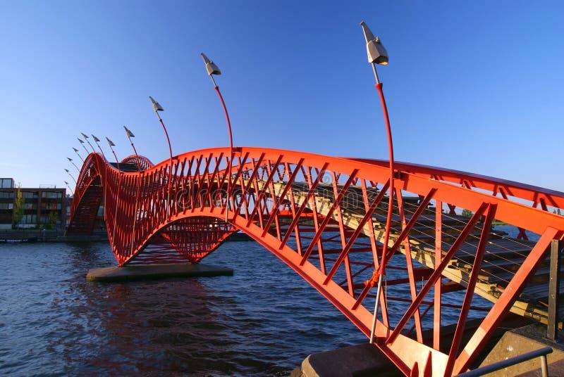 桥梁红色 图库摄影