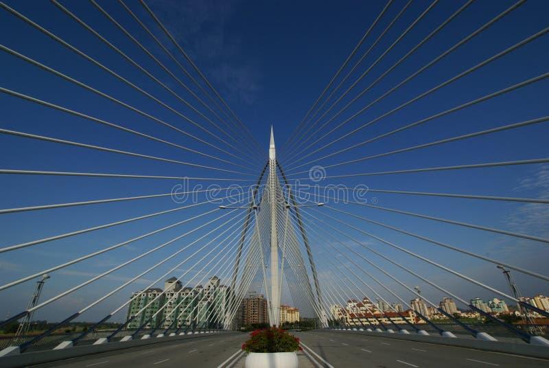 桥梁线路 库存照片