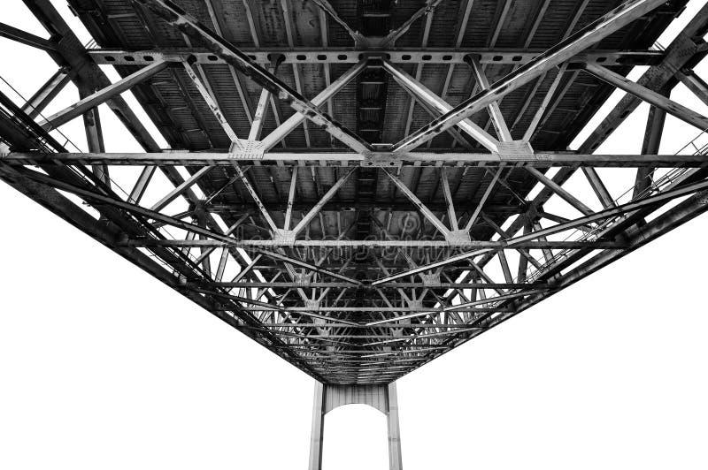 桥梁结构 库存照片