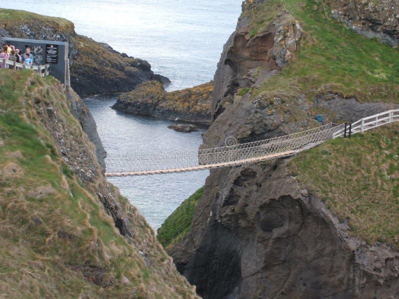 桥梁绳索 库存图片