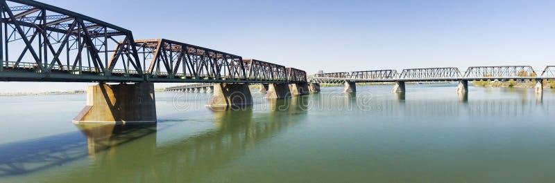 桥梁维多利亚 免版税图库摄影