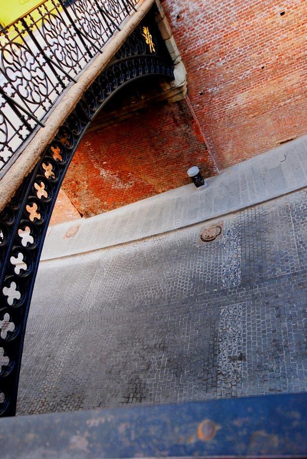 桥梁罗马尼亚锡比乌 免版税库存图片